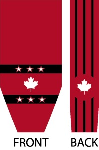 SUBLIMATED HOCKEY SOCK CANADA 1