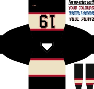 HOCKEY JERSEY LEAGUE CHICAGO 3RD