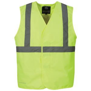 Hotlist Men's Stormtech Workwear Safety Vest - Safety Yellow only