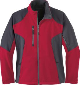 North End® Ladies' Compass Colourblock Three-Layer Fleece Bonded Soft Shell Jacket