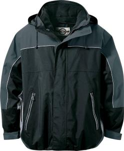 North End® Adult 3-in-1 Seam-Sealed Mid-Length Jacket with Piping