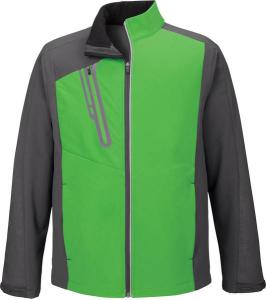 North End® Men's Terrain Colourblock Soft Shell with Embossed Print