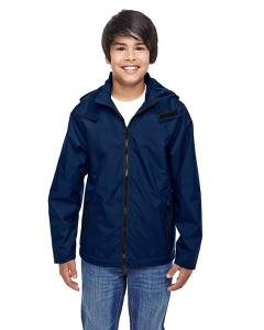 Team 365TM Youth Conquest Jacket with Fleece Lining