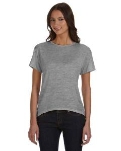 Alternative Ladies' Pony Mélange Burnout T-Shirt with Back Strap