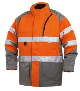 High Visibility Parka 6-In-1 Class 2 Level 2