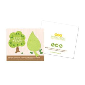 Save Trees Plantable Leaf Cards