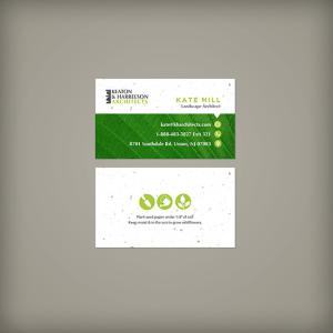 Eco Professional Seed Paper Business Cards
